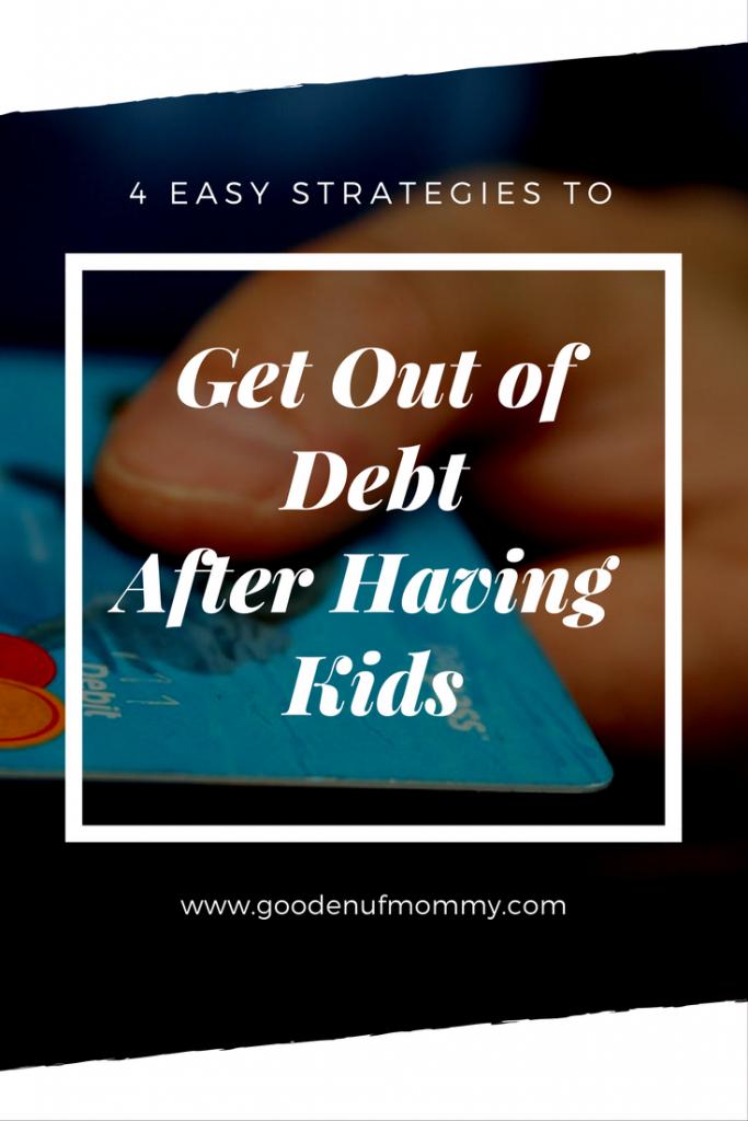 4 Strategies to Avoid Debt After Kids