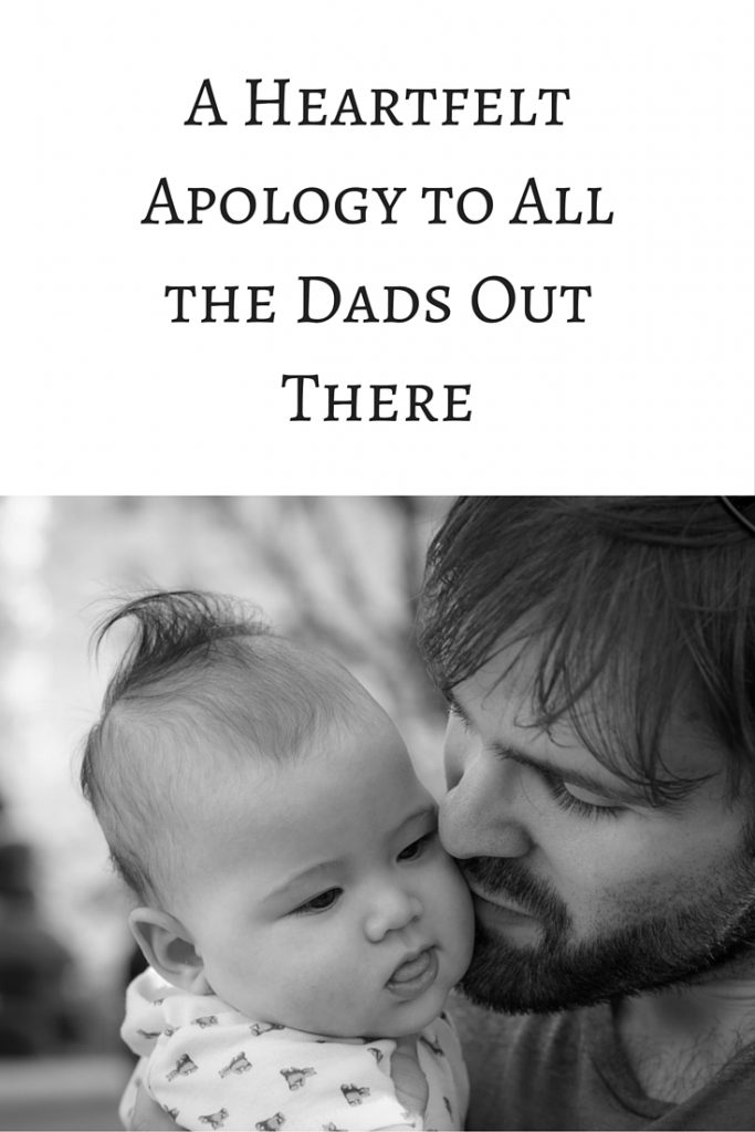 A Letter to the Dads
